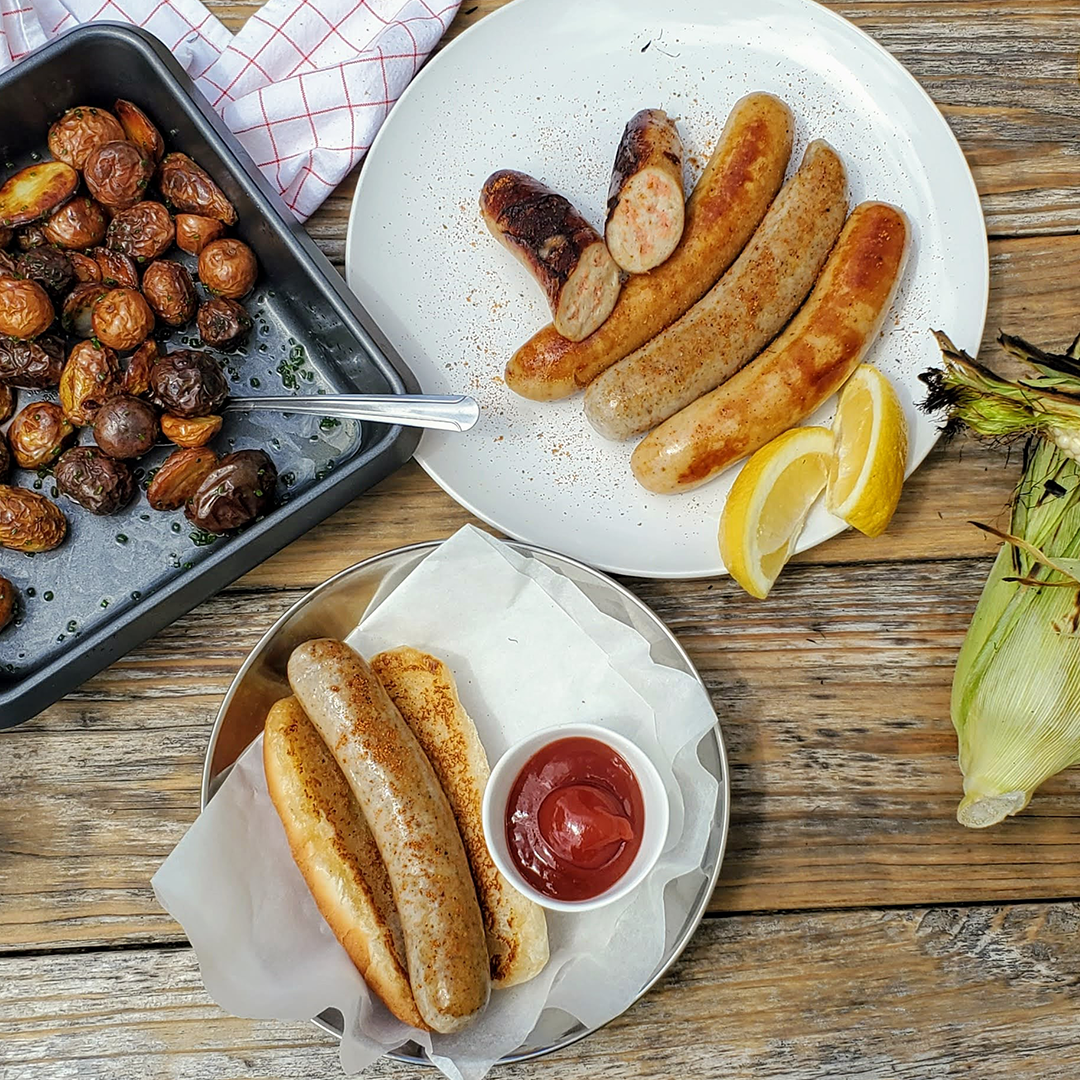 Maine Lobster Sausages